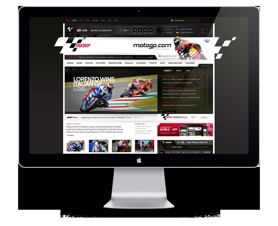 MotoGP Website Refresh