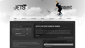 Jets FC Website Concept