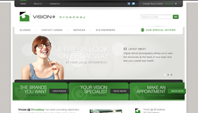 Vision@Broadway Website Concept