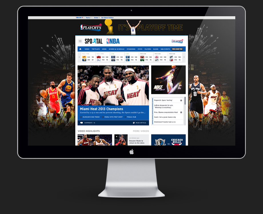 NBA Australia – SPORTAL Concepts & Adverts