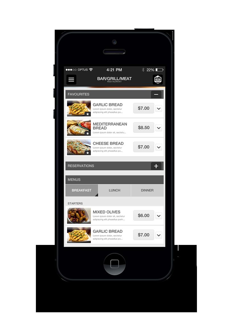 Restaurant Theme App