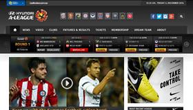 A-League Website